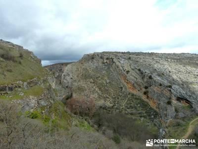 Barranco Río Dulce; sendero gps; pantalon senderismo;viajes senderismo agosto